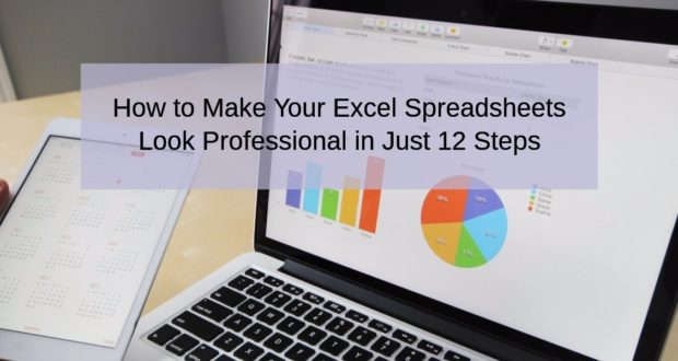 How to make excel look more professional