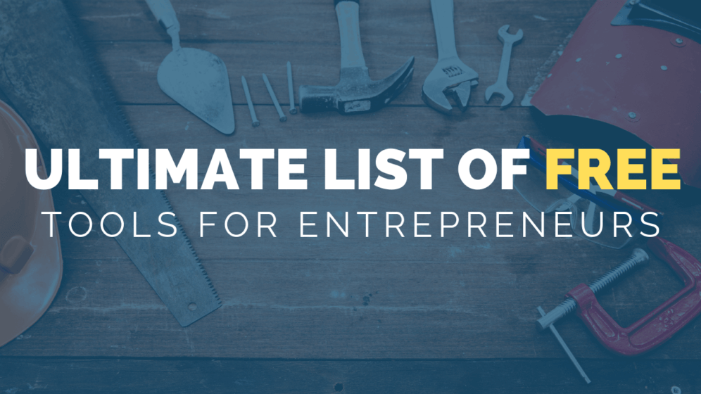 Free Tools for Entrepreneurs