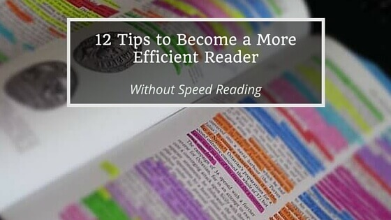 Become a more efficient reader