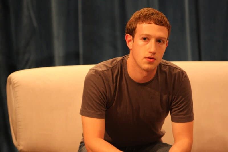 Mark Zuckerberg dressing