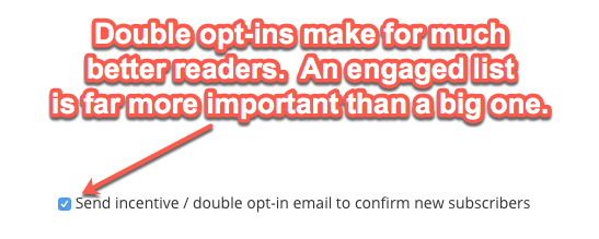 Double Opt-In for ConvertKit