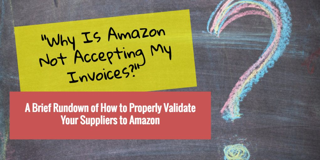 How to Get Amazon to Accept Your Invoices