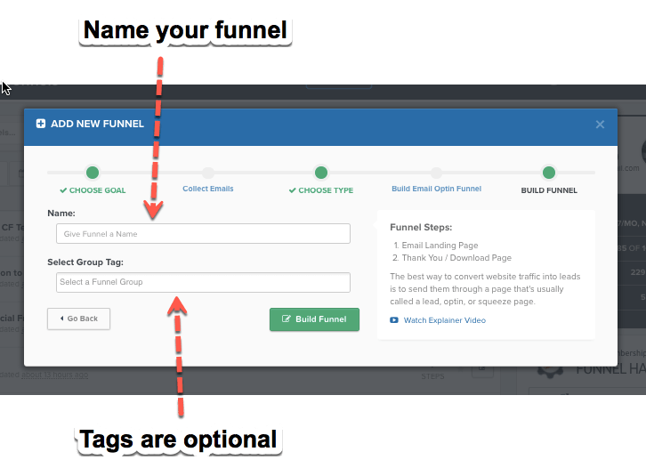 Clickfunnels 2 Step Opt-In
