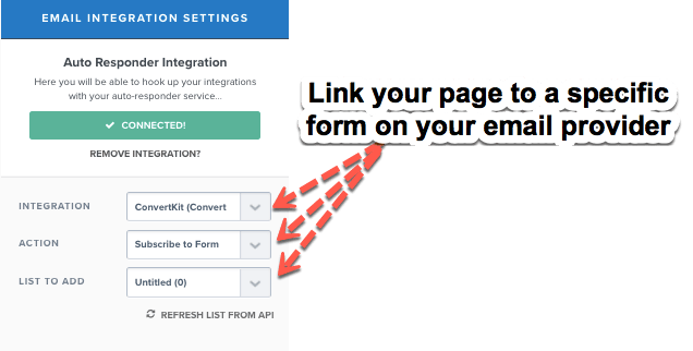 Clickfunnels email integration