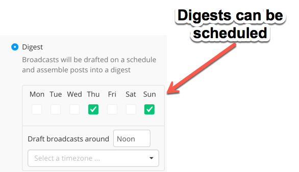 ConvertKit Digests