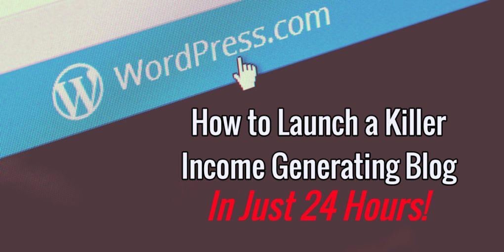 Create a blog in 24 hours