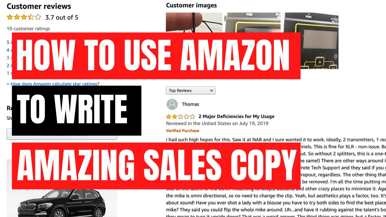 Amazon Sales Copy