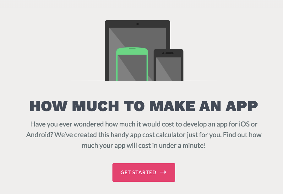how much to make an app lead magnet