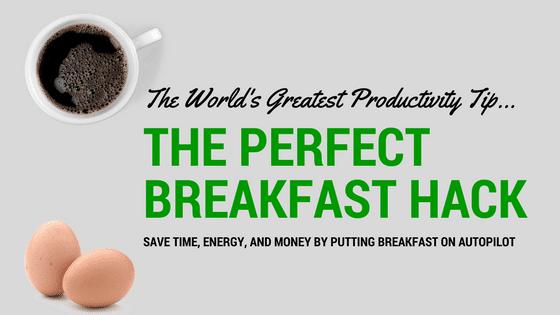 Perfect breakfast hack