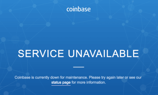 Coinbase outages