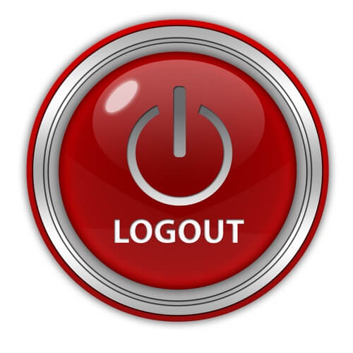 Logout of exchanges