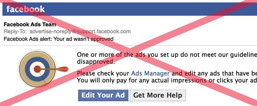 Fb Ad Rejected