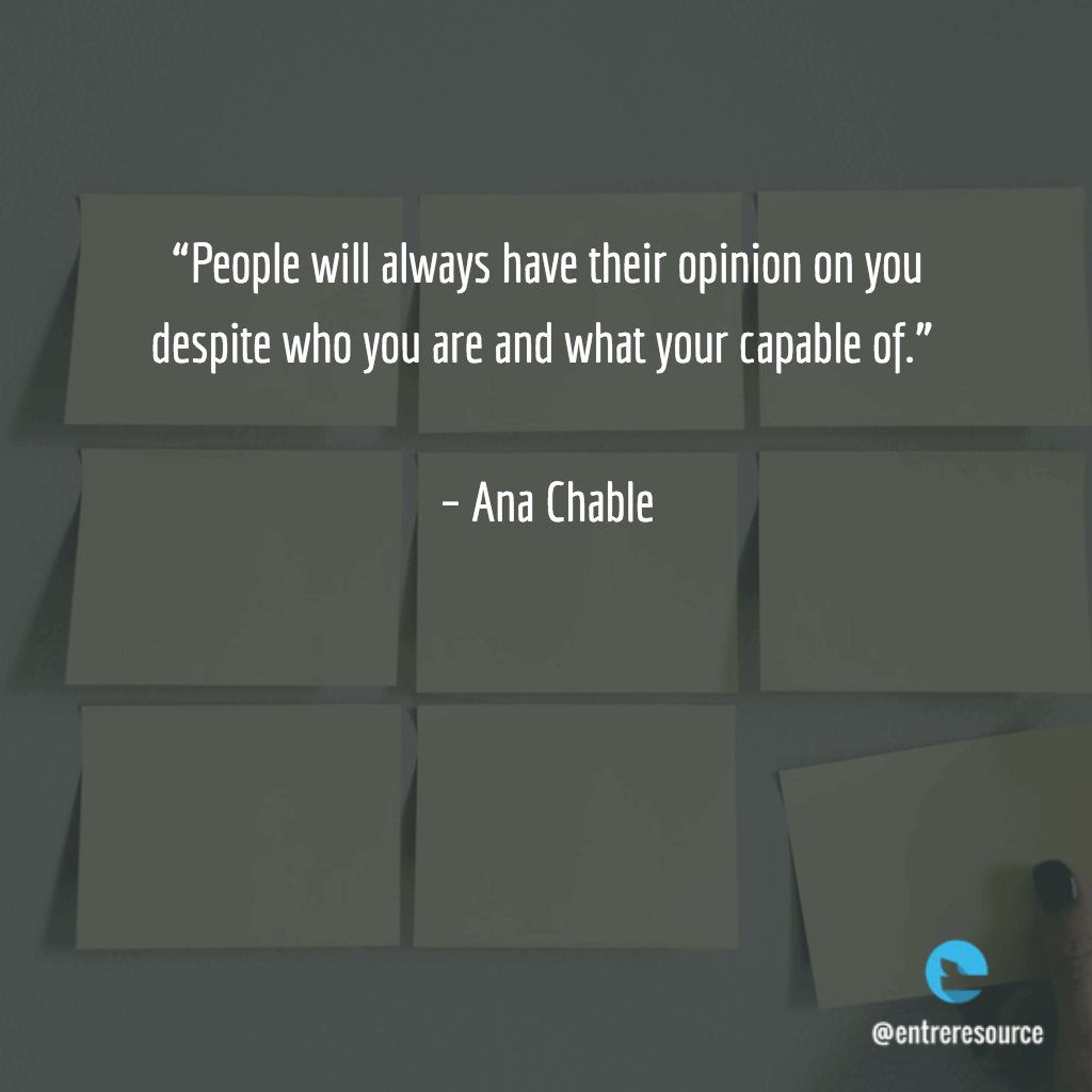 Ana Chable Quote