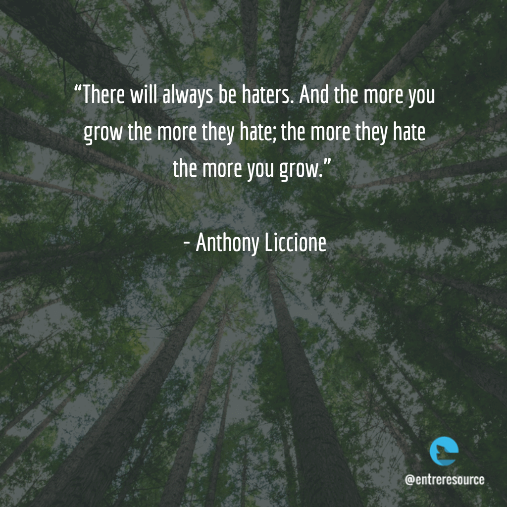 Anthony Liccione Quote