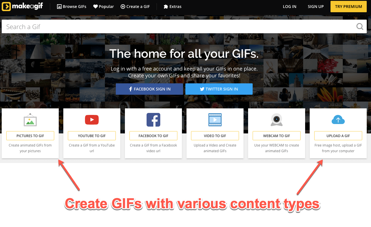 How to Create GIFs