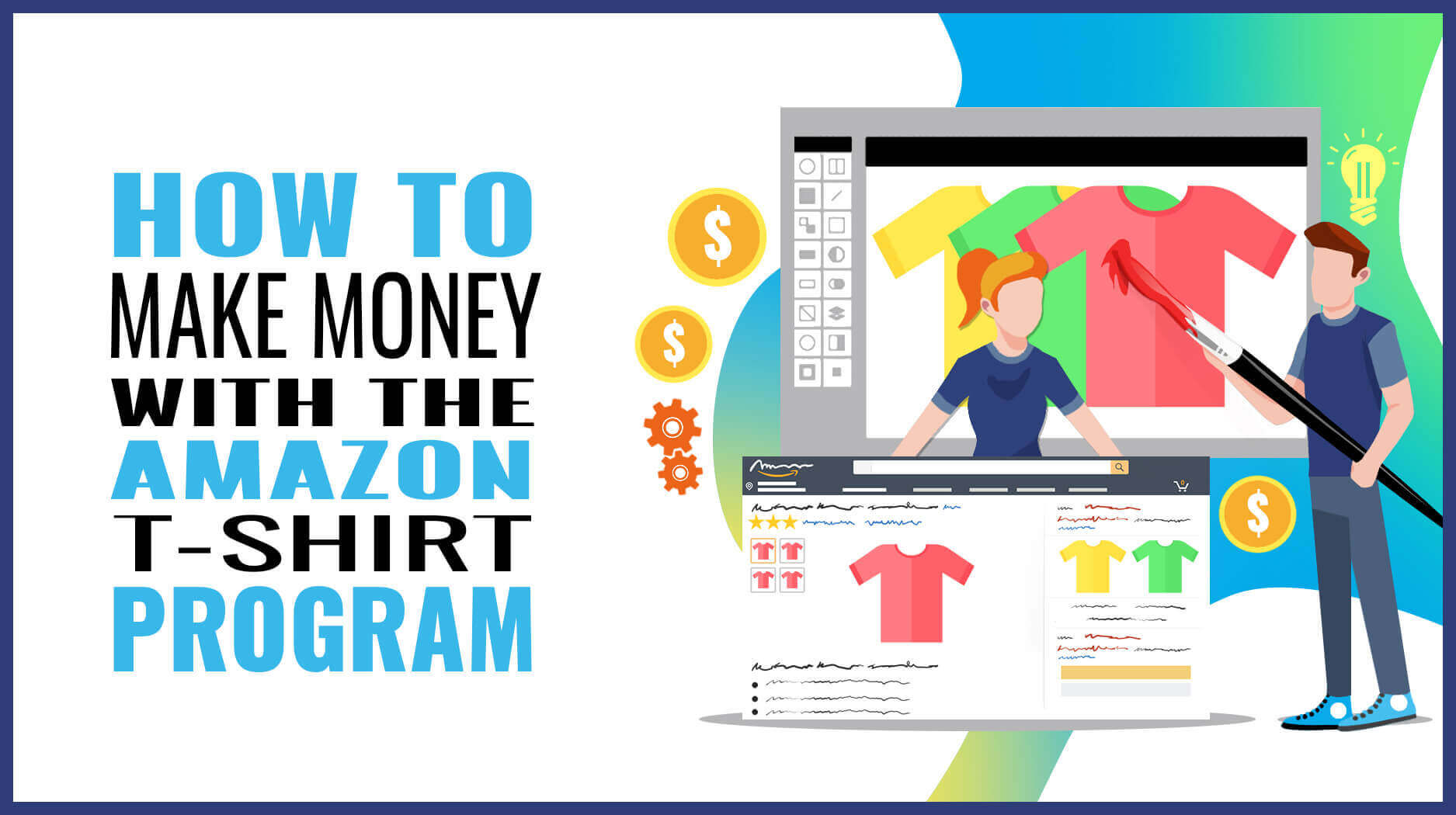 Merch By Amazon How To Make Money With The Amazon T Shirt Program
