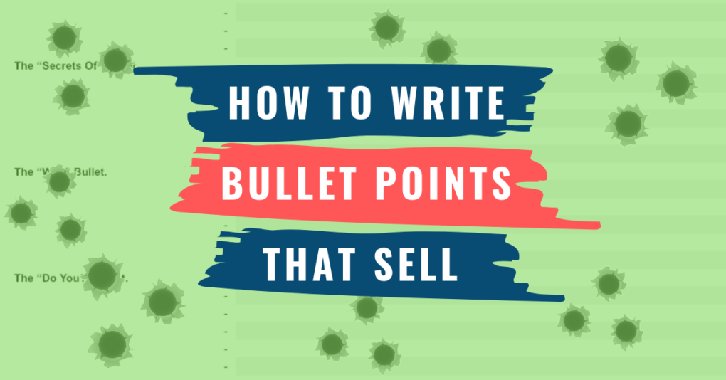 Bullet Points That Sell