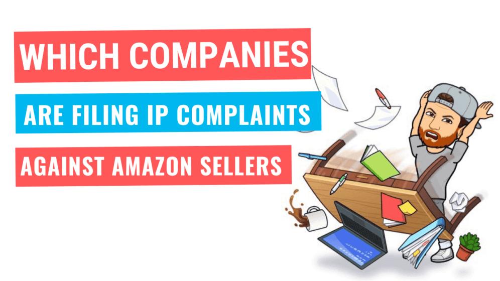 Amazon IP Complaint