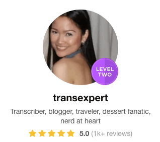 Fiverr Transcription