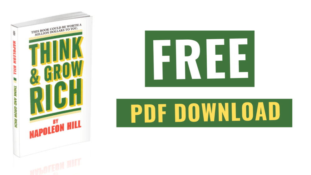 Think and Grow Rich Free Download