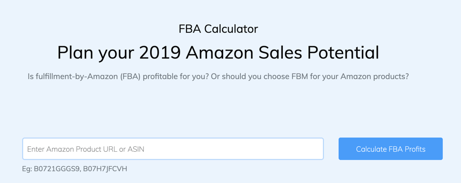 Seller App Calculator Amazon