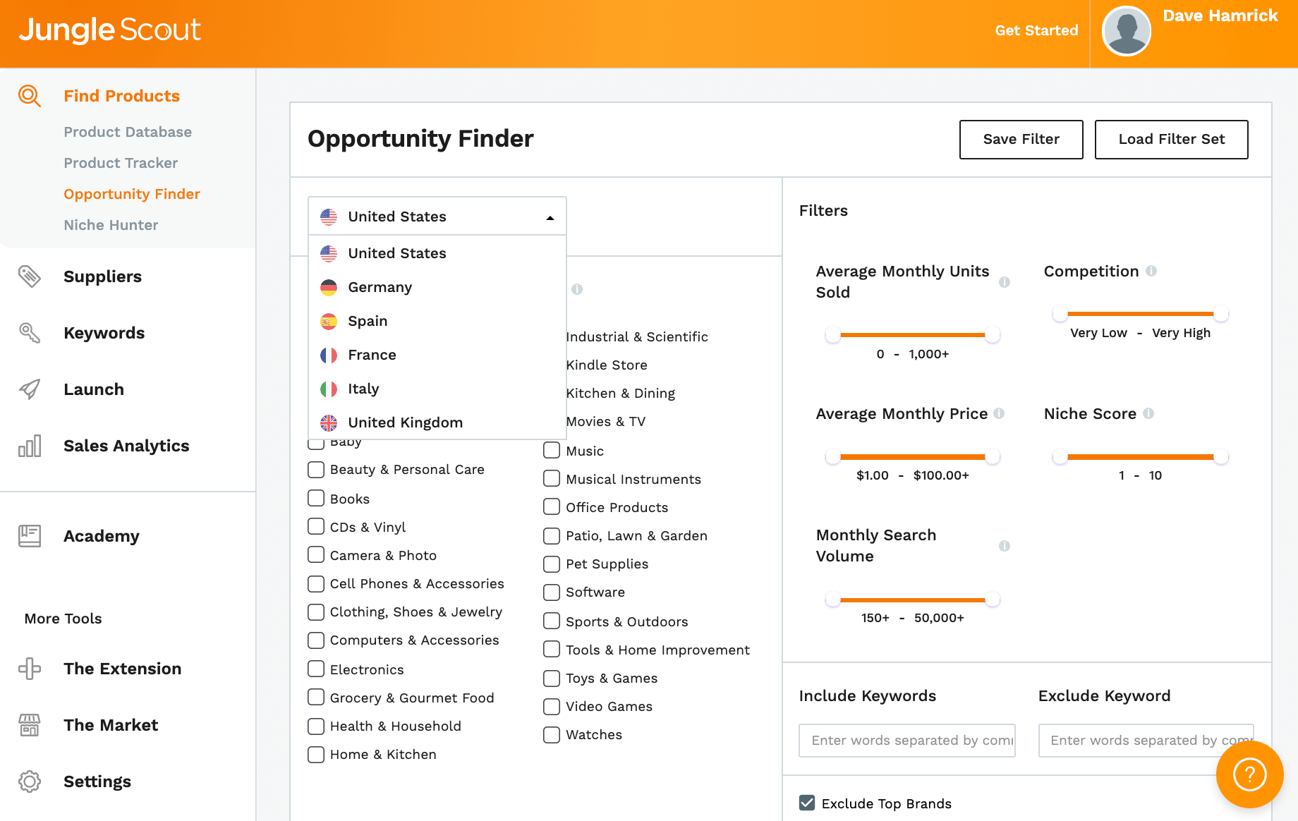 Opportunity Finder