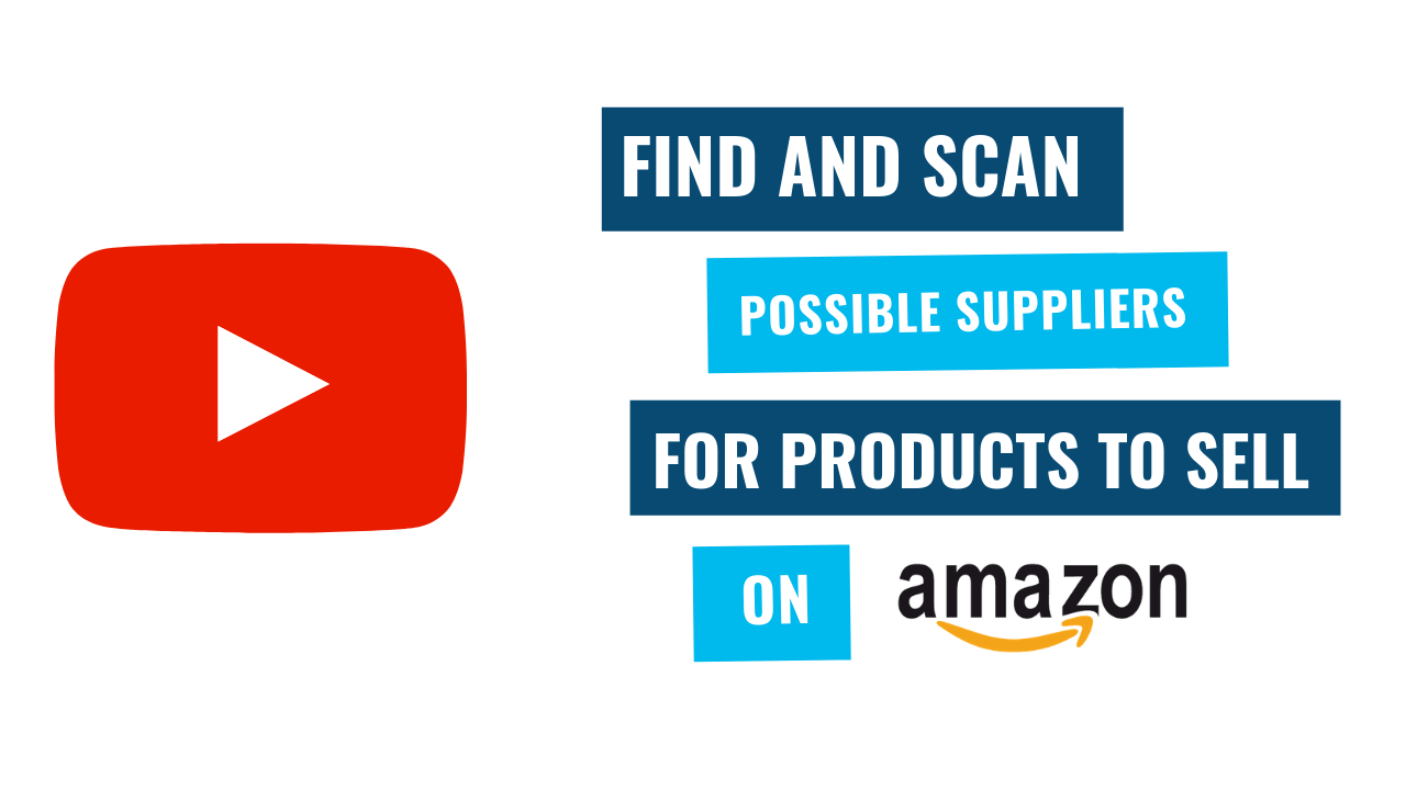 Find and scan amazon products