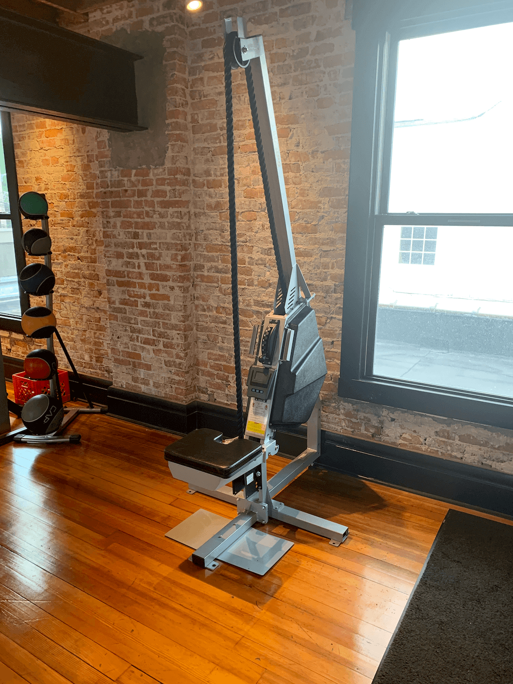 Rope Pulldown Machine