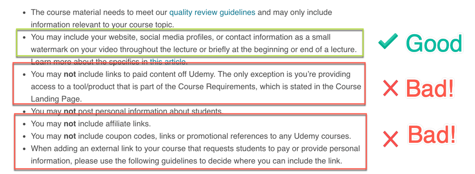 Udemy Pros and Cons