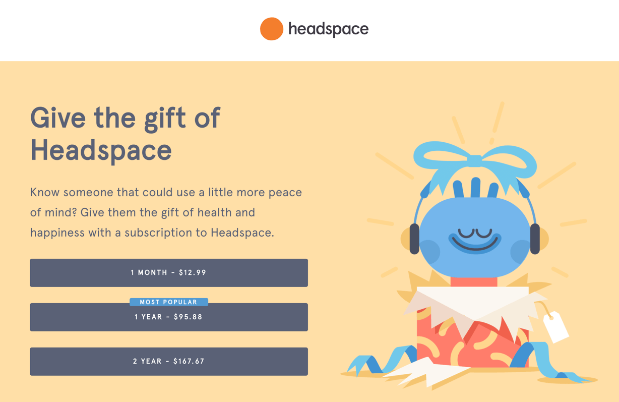 HeadSpace Gift