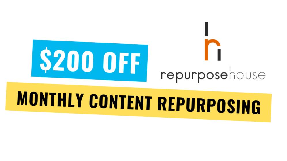 $200 off Repurpose House
