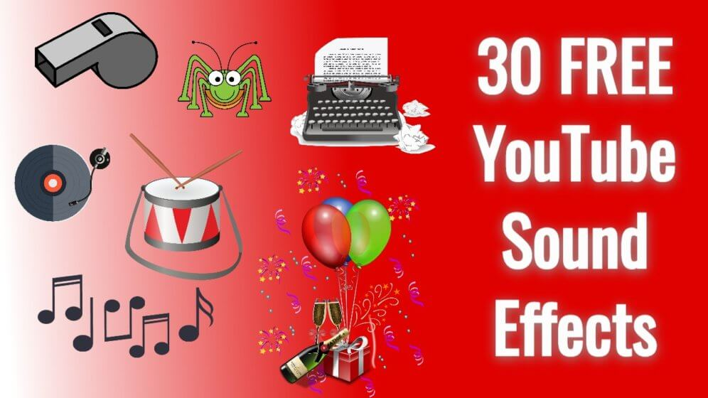 Free YouTube Sound Effects