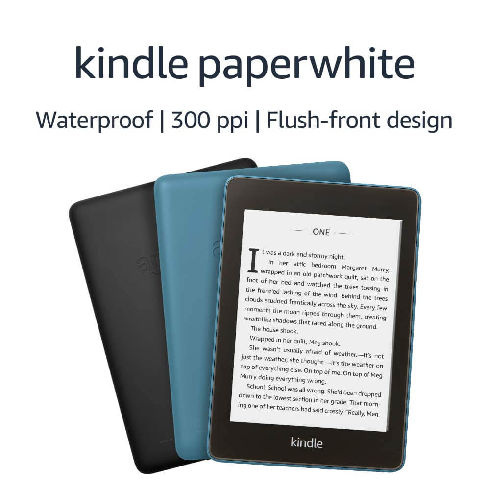 New kindle waterproof