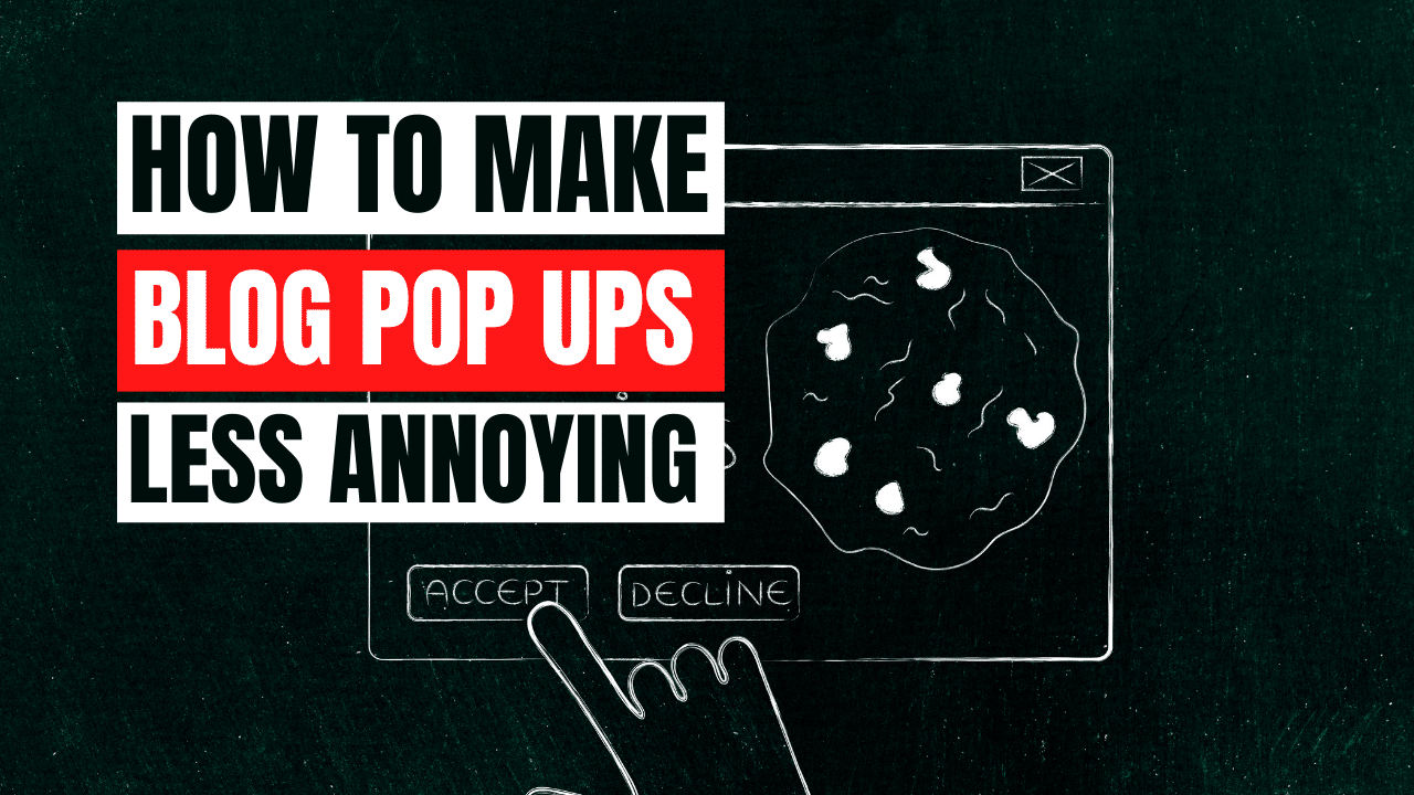 Annoying Pop Ups