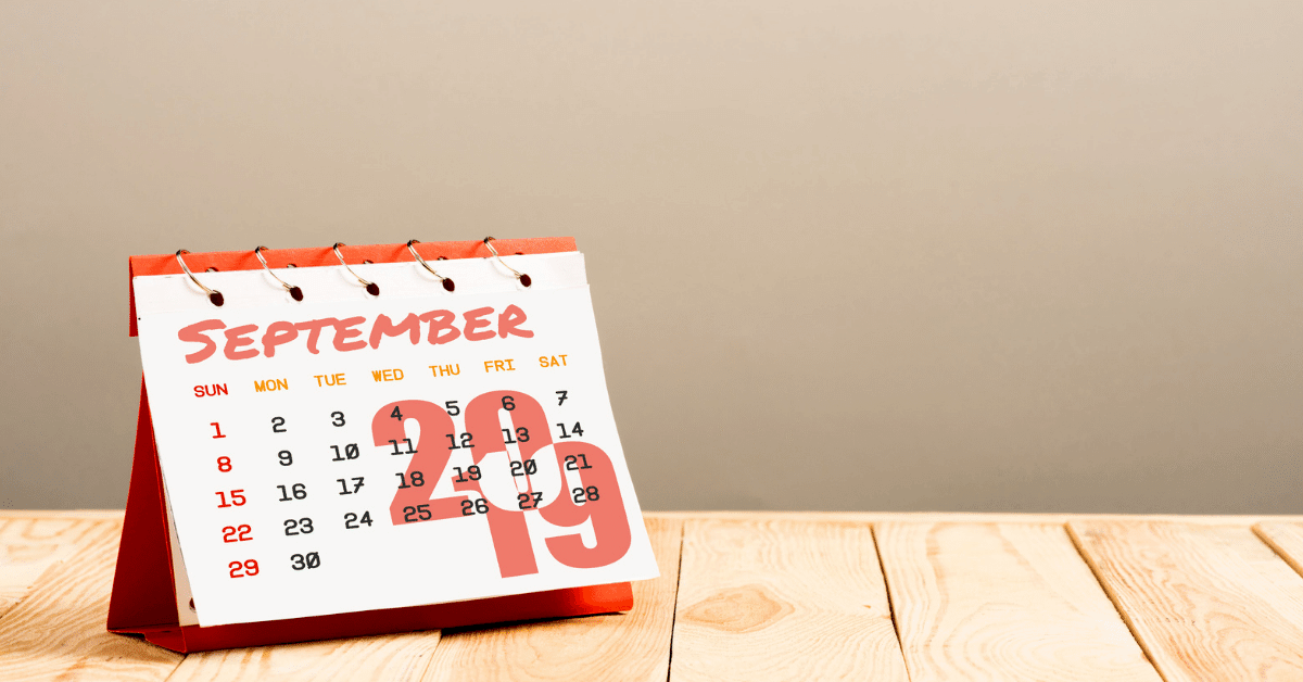 September month in review