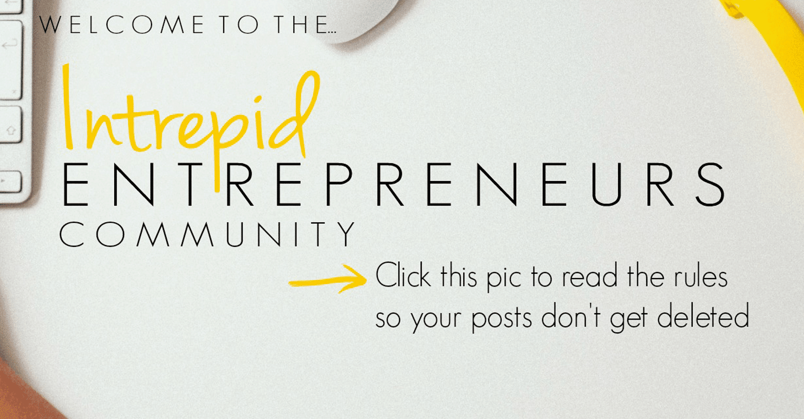 Intrepid Entrepreneurs Community