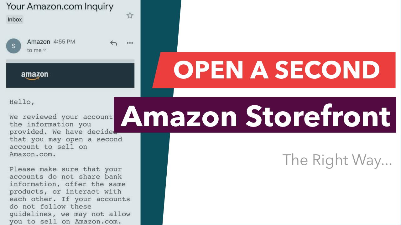 Second Amazon Storefront