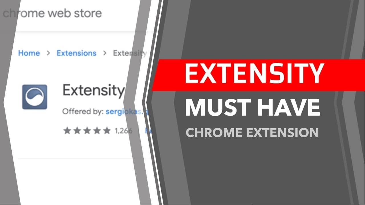 extensity chrome extension