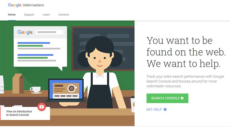 Google webmasters tool