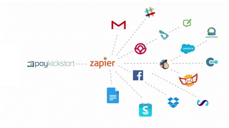 PayKickStart Zapier Integration