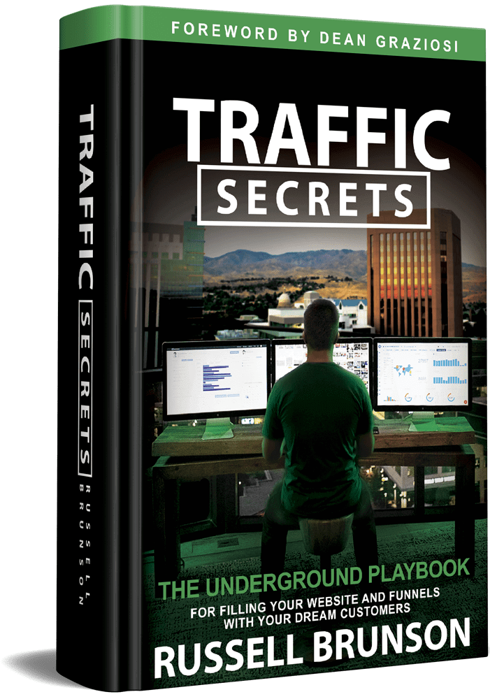 Traffic Secrets Transparent 3D Cover