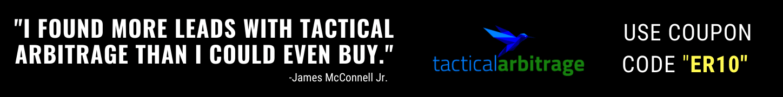 Tactical Arbitrage Discount Code