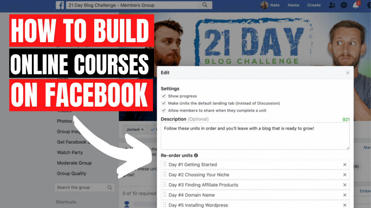 Free Courses on Facebook Social Learning Units