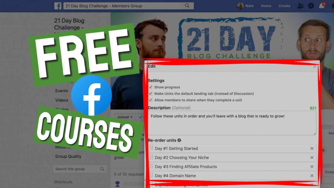 Free Facebook Courses