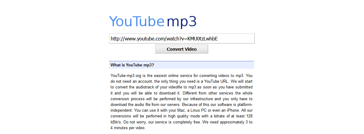 YouTube-Mp3.org logo