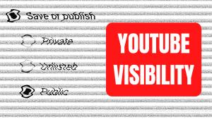 Unlisted vs. Public vs. Private