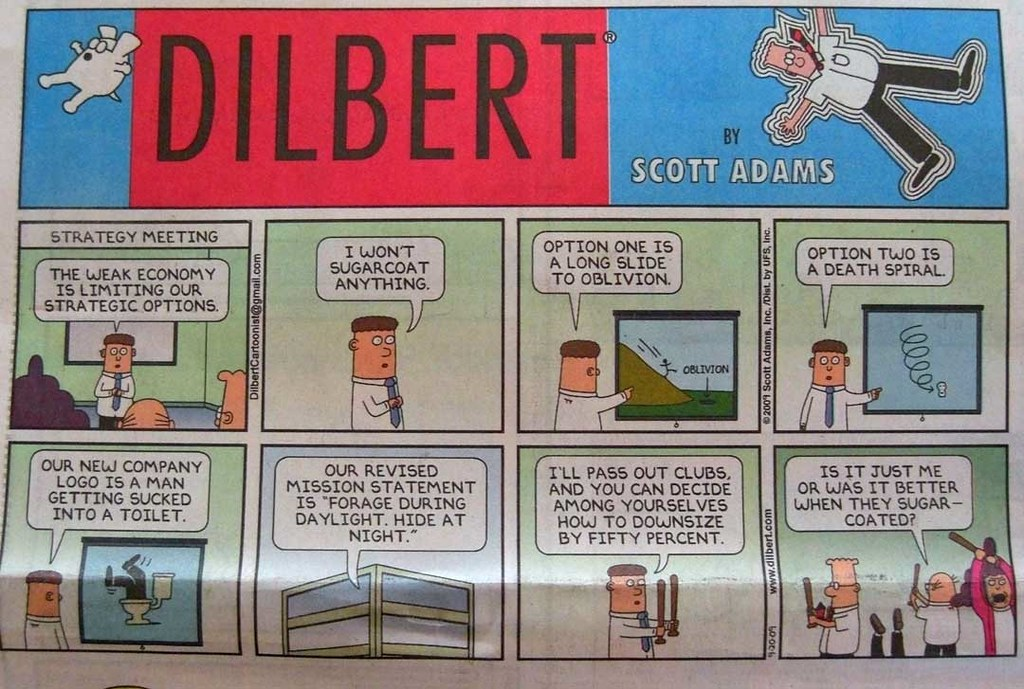 Dilbert and Skill Stacking