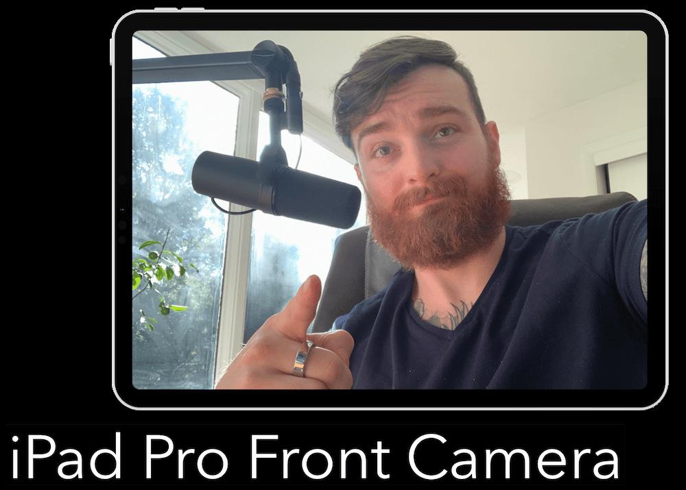 iPad Front Camera