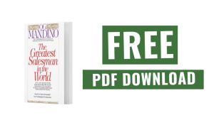 Greatest Salesman in the World PDF