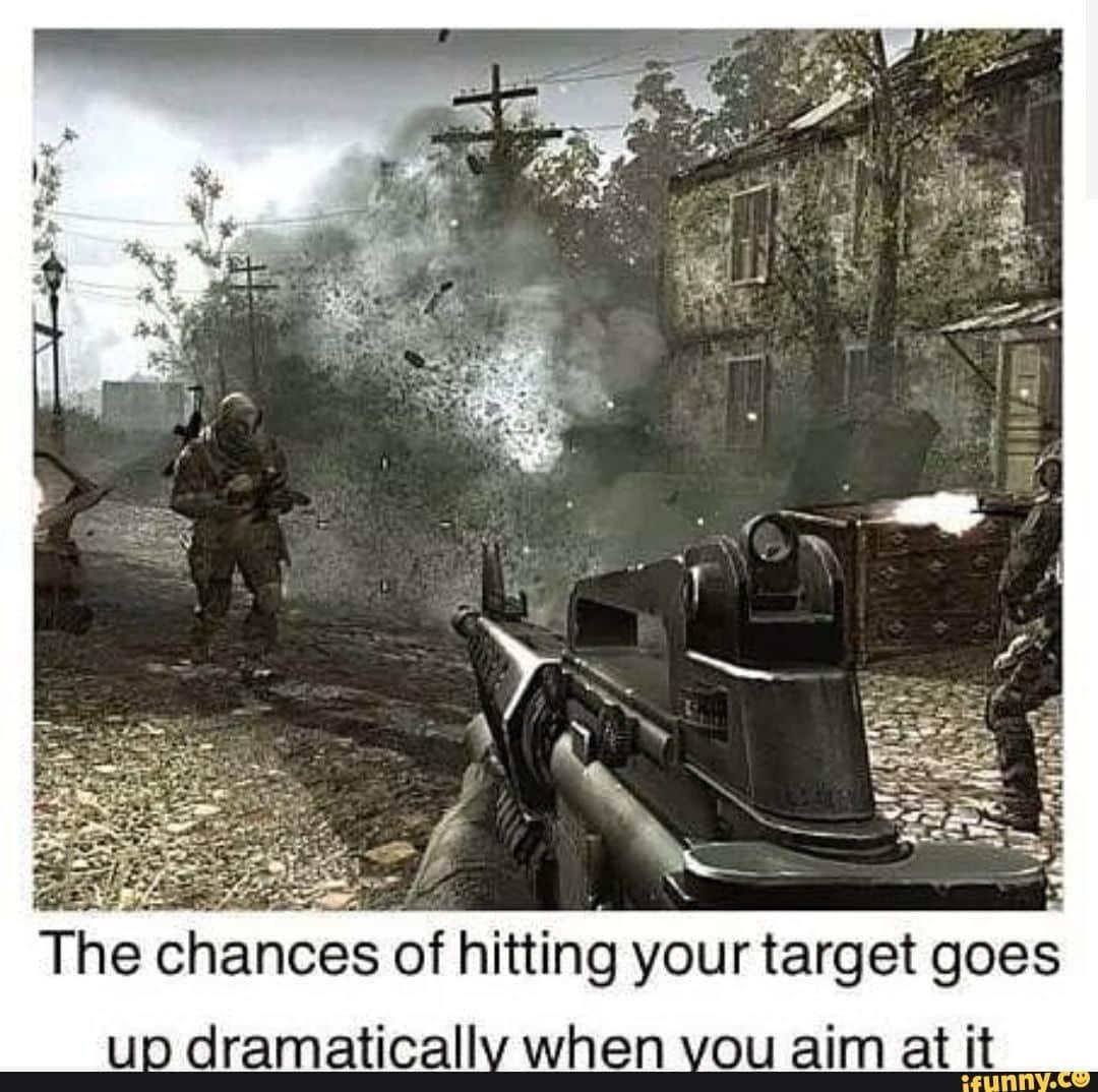 Call of Duty Memes Aiming